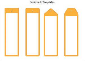 bookmark design template 101 blank bookmark templates free sle exle