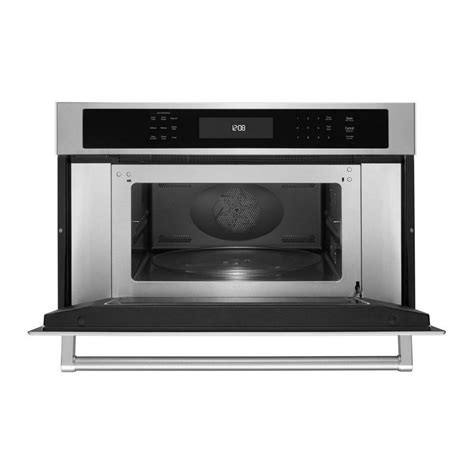 Kitchenaid Microwave Grill 1 4cu Kitchenaid Built In Microwave Stainless Kmbp100ess