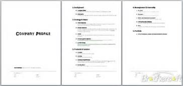 company profile template pdf doc 691208 construction company profile templates in
