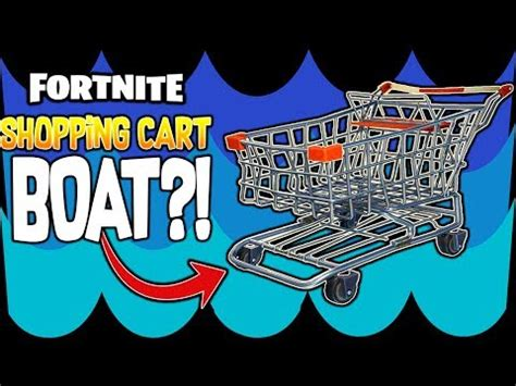 how to build a boat in fortnite new fortnite shopping cart boat build a boat for