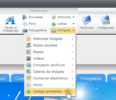 widget imagenes html como poner un widget o gadget html en tu web o blog