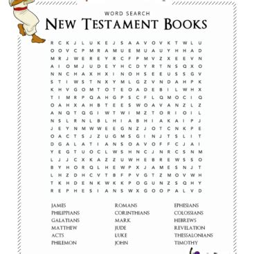 testament books free bible activities for teachers worksheets quizzes