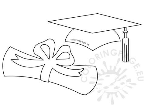 template of graduation hat graduation hat template www pixshark images galleries with a bite