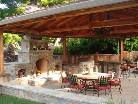 country outdoor kitchen ideas 8 great design ideas for outdoor living spaces