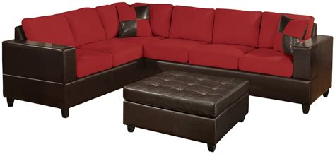 Microfiber Leather Sofa Microfiber And Leather Sectional Sleeper Sofa With Chaise And Storage Microfiber Sectional