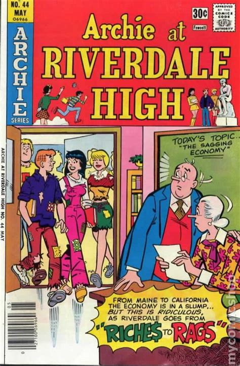 Archie Riverdale High archie at riverdale high 1972 comic books