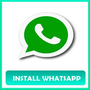 install whatsapp » download whatsapp for mobile