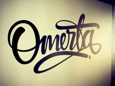 omerta tattoo omerta design my