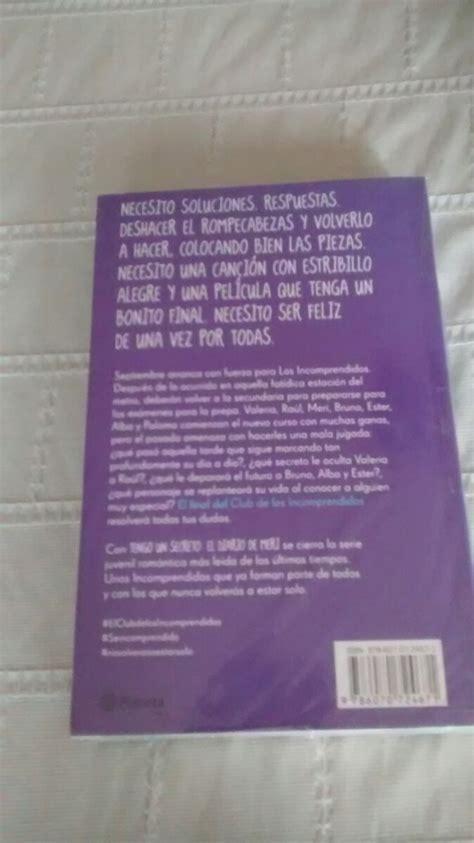 tengo un secreto el diario de meri libro libro tengo un secreto el diario de meri blue jeans 260 00 en mercado libre