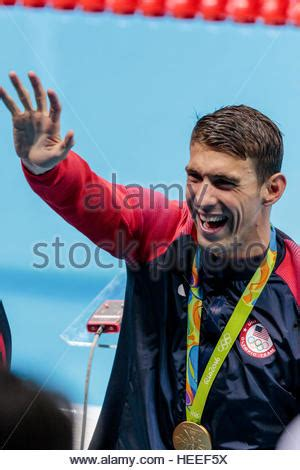 swimmer michael phelps at the team usa media summit in