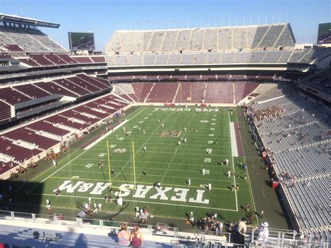 kyle field sections kyle field section 345 rateyourseats com