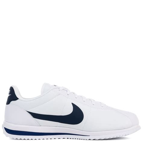 Nike Cortez Textille Navy 21b nike cortez ultra white midnight navy binary blue