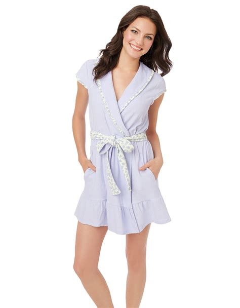 Dress Flow Babyterry betsey johnson baby terry robe in purple lyst