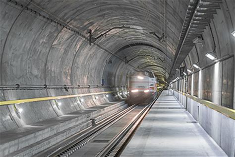 imagenes de web tunnel gotthard base tunnel opens for passenger transport