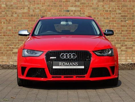 Audi Rs4 For Sale by 2015 15 Audi Rs4 Avant For Sale Misano Red