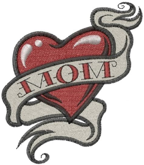 mom tattoo cartoon heart tattoos tattoos and body art and old school on