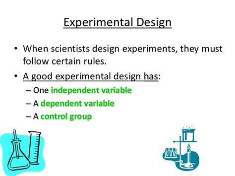 design experiment using scientific method the scientific method and experimental design 9th grade