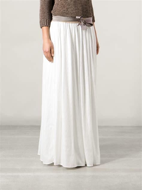 Whita Skirt white pleated skirt redskirtz