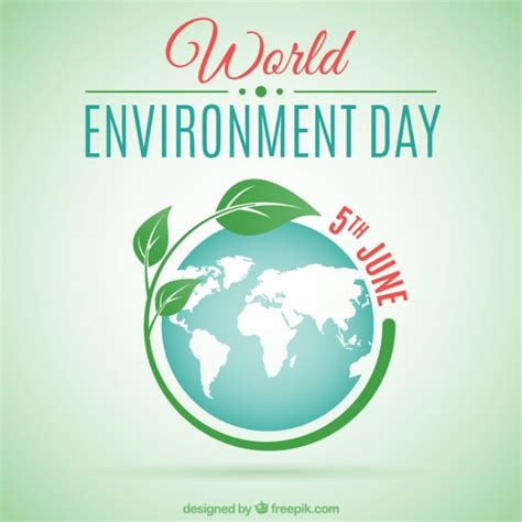 environment day world environment day background vector free