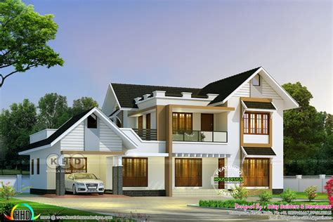 2785 sq ft 5 bedroom kerala home kerala home design and kerala home design home review