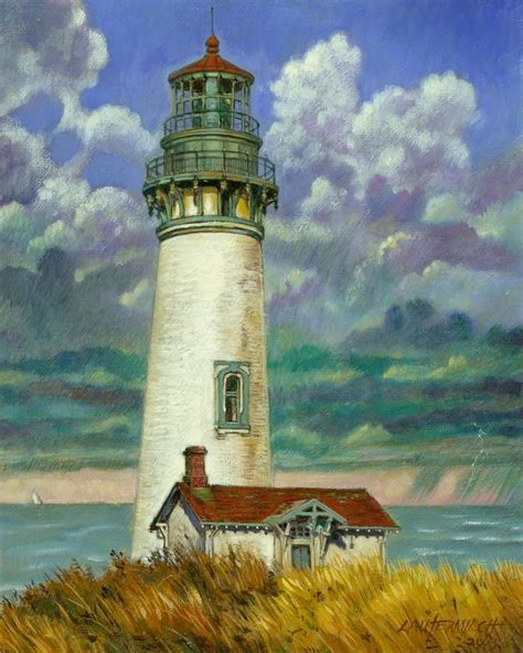 houses of light abandoned lighthouse print by john lautermilch
