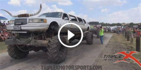 real monster truck videos the real redneck playground monster truck tug of war