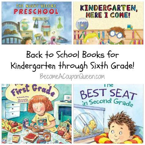 6th grade picture books back to school books for pre school through 6th grade