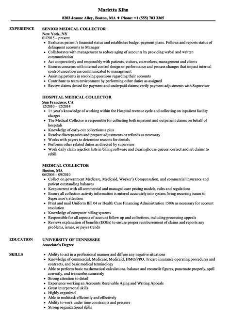 Collector Resume by Collector Resume Sles Velvet