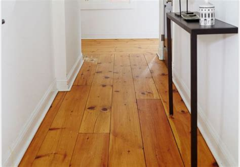 wood floors in the new apartment
