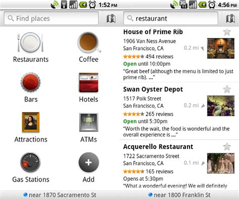 android location android location search gets a boost with new places app ars technica