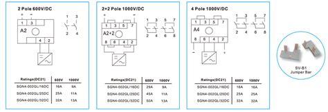 3 phase isolator switch wiring diagram 4 pole isolator