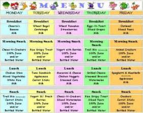 menu ideas finding ideas for new meals for the kids through day care menus by friendly faces daycare baby