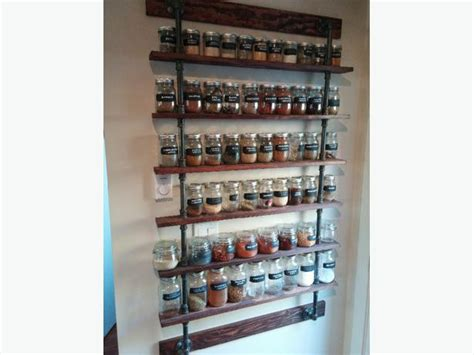 Customizable Spice Rack custom built spice rack west shore langford colwood metchosin highlands