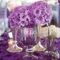 purple wedding table decorations decoration