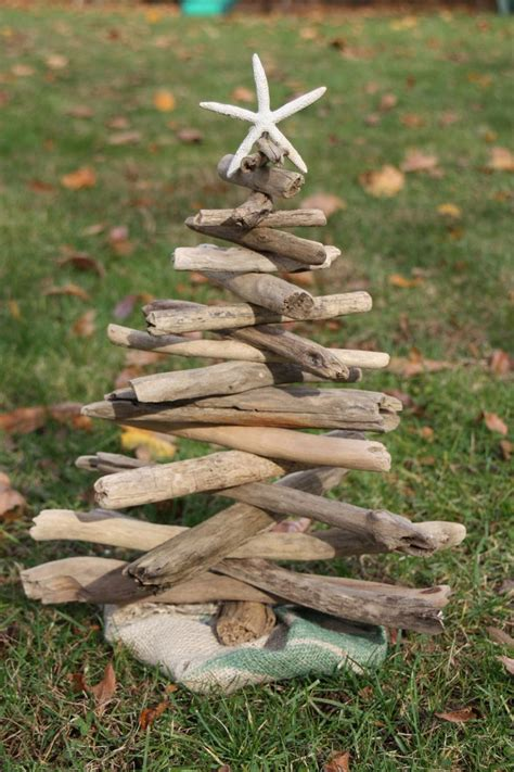 diy driftwood xmas tree christmas crafties pinterest