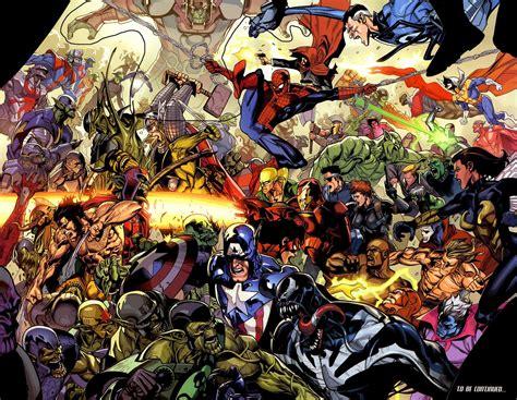 all marvel all marvel comics together hd desktop wallpapers