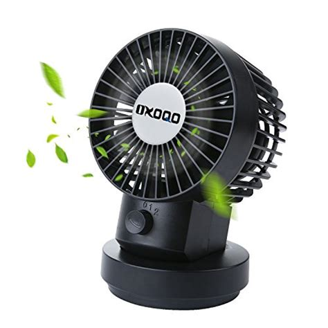 Small Oscillating Desk Fan Oxoqo Small Oscillating Desk Fan Usb Table Mini Personal Fan 2 Speed Modes Dual Blades For Room