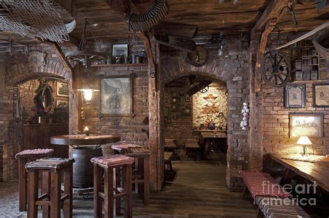 Restaurants Decor Ideas by Rustic Restaurant Seating Photograph By Jaak Nilson