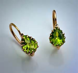 earrings sale antique and vintage earrings russian peridot gold earrings for sale