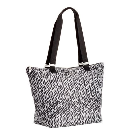 And The Citytote by Baggallini Chevron City Tote The Container Store