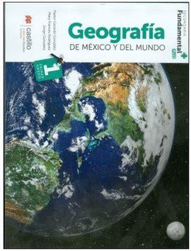 libro geografia de mexico geografia de mexico y del mundo secundaria fundamental