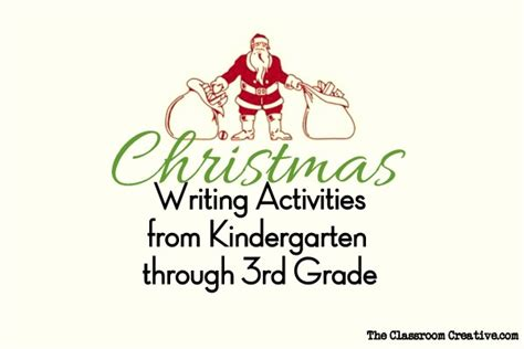 christmas writing activities for 2nd grade writing activities for