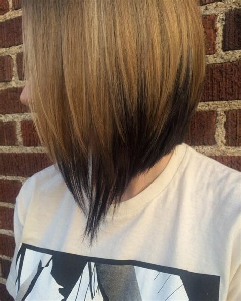 umbre angled bob hair cuts 25 outstanding reverse ombre hair ideas newest trends