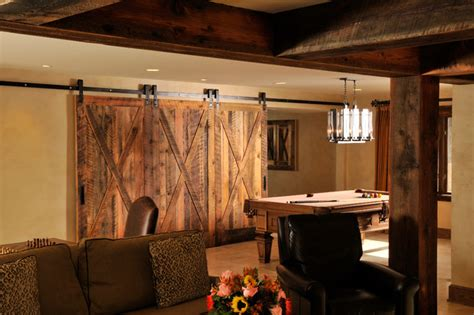 rustic basement ideas traditional basement