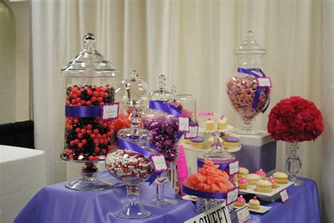 pink and purple candy buffet yelp