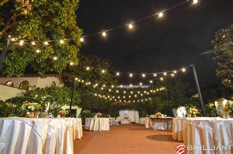 Market Lights by Darlington House La Jolla Wedding Venue Market Lights
