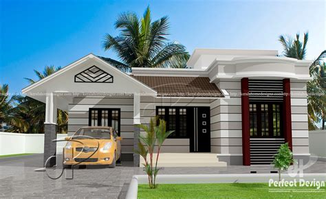 house plans and designs 796 sq ft beautiful home kerala home design