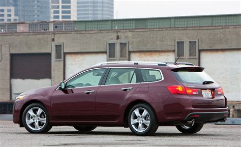 tsx acura wagon car and driver