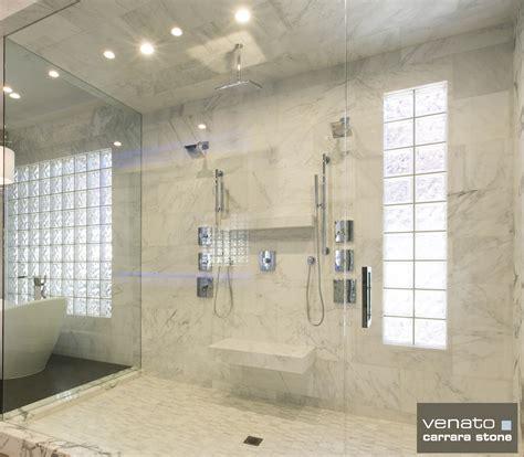 Carrara Marble Subway Tile Bathroom by Carrara Marble Subway Tile Shower Small Home Decoration