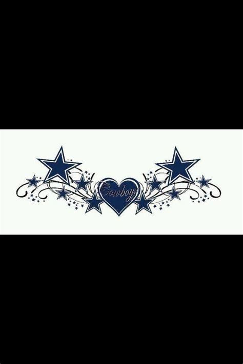 dallas cowboy tattoos dallas cowboys tattoos lower backs